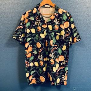 レモン&ライム&オレンジの柑橘アロハシャツ