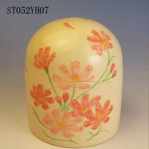 陶器製ミニ骨壷あんのん(ST052YH07)コスモス