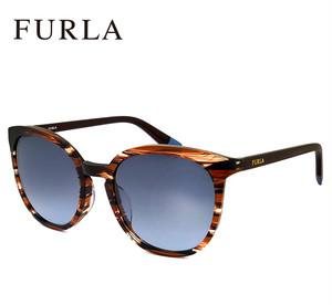 フルラ サングラス FURLA sfu218j 09y7 Sサイズ 9y7 レディース ジャパンフィットモデル