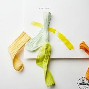 «予約» soft rib socks pastel set  ソフトリブソックス パステルセット 靴下
