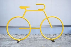 BICYCLE RACK(YELLOW)