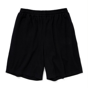"Just Right ""Cotton Mesh Ball Shorts"" Black"