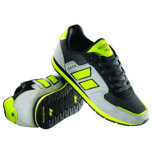 【MACBETH スニーカー】FISCHER Light Gray/Neon/Black