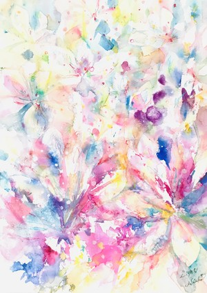 ◯ Light ( crystal flower )