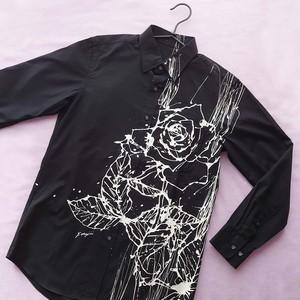 F's rose【 藤井清秀  シャツアート】薔薇 M
