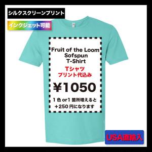 Fruit of the Loom  Sofspun  T-Shirt (品番SF45R)