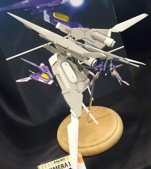 1点のみ販売 オリジナル戦闘機 KIMERA13 レジンキット(胴体スモーククリア―版)