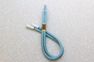 奈良組 男性用羽織紐 水色
