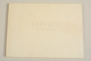 CY TWOMBLY/LEPANTO
