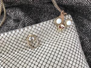 Mimi 3way bag charm ー Classic white ー