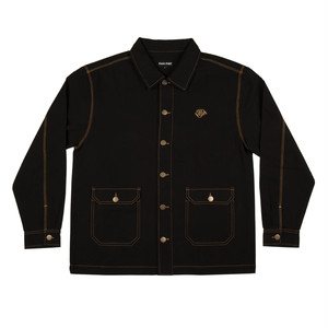 PASS~PORT MASTERS JACKET-BLACK/GOLD