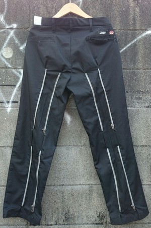 ご予約商品 完全別注JOHNNY SPADE BONDAGE CUSTOM WORK PANTS col.BLK