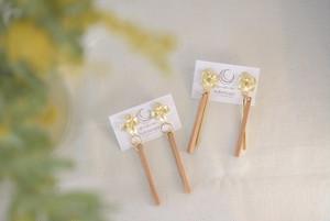 月の環 wood stick accessory