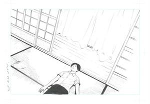 水色の部屋 連載前イメージ(ゴトウユキコ)