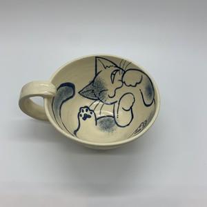 【蕗乃金平】スープカップ   ①