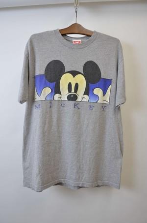 【Lサイズ】 MICKEY TEE ミッキー 半袖Tシャツ GRAY 400601190754