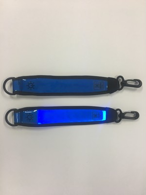 Drone Conciergeロゴ付きセーフティタグ 青色