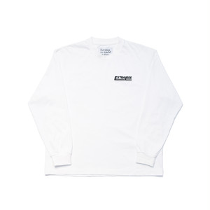 EXTRALESS L/S Tee EXTRALESS White EX19FW0001
