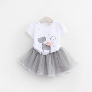【セット】超可愛い カートゥーン 柔らかい ファッション 夏新作 女の子2点セット30811100