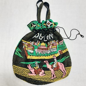 Vintage Beaded Purse Made In Israel