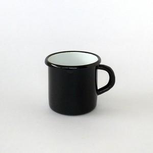 ホーローのマグ ブラック |Mug Black