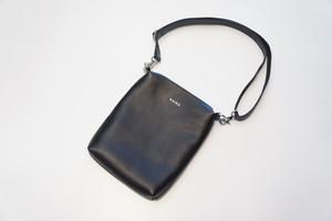 Leather Shoulder Bag -BLACK- / KAIKO