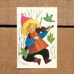 クリスマスカード「Kerstin Frykstrand(シェスティン・フリュークストランド)」《210213-03》