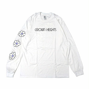 PARK DELI - CROWN HEIGHTS L/S TEE (White)