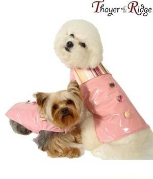 犬服(ドッグウェア) Thayer & Ridge タイヤー&リッヂ Mia Raincoat レインコート