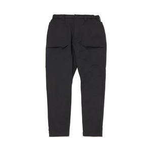 STRETCHED DOUBLE POCKET PANTS - BLACK