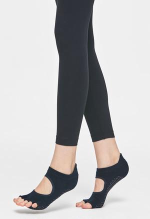 Core power Toe socks (half toe) : Black
