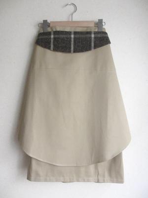 悟りのスカート /chino(tweed mix)