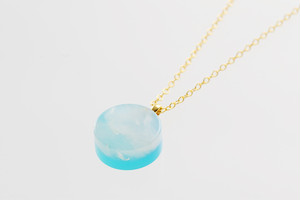 SKY series circle necklace(SV925)