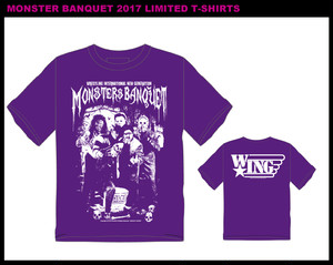受注販売 MONSTER BANQUET 2017 LIMITED Tshirts