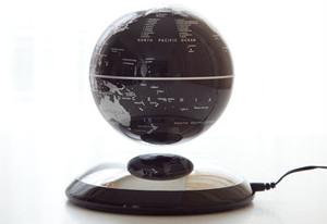 浮遊回転地球儀