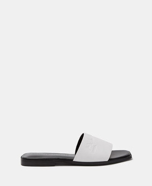 FLAT LEATHER SANDALS [296151622111]