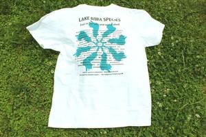 ★琵琶湖フィッシュTシャツ★ White
