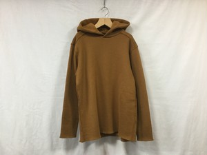 """semoh""""pullover hoodie ocher"""""""