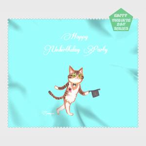 【HappyUnbirthday!Silk Hat】マイクロファイバークロス