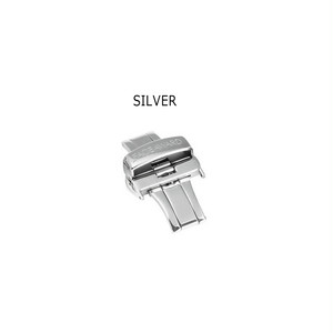 24mmベルト用バックル Silver
