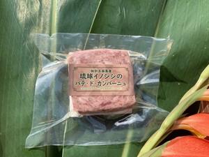 パテ・ド・カンパーニュ 加計呂麻島産リュウキュウイノシシ肉使用