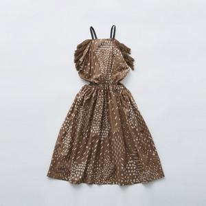 eLfinFolk QiLin pinafore dress (brown) 110 130  elf-211F09
