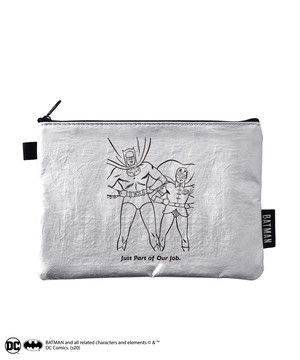 BATMAN / COLORLESS POUCH W-BM014 SV