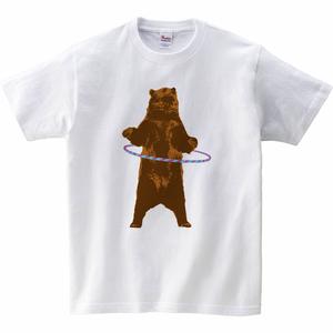 [キッズTシャツ] Bear and ring