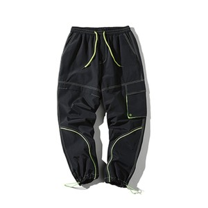 NEON STICH PANTS / BLACK