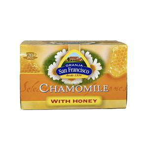 はちみつ入りカモミールティ はちみつ紅茶 スペイン紅茶 ティーパック20袋入り