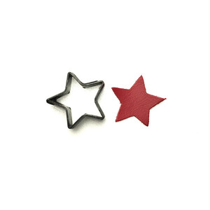 【抜き型】星 / N018