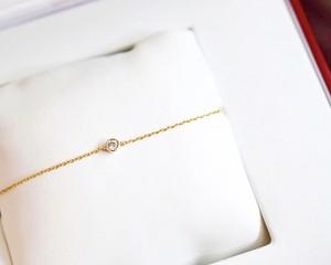 一粒Diamond bijou bracelet