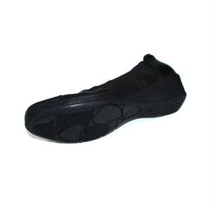 SHOEL(シュール) 本革  ウェッジパンプス  5795 ブラック