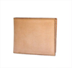 FIVE WOODS 「BASICS」 SHORT WALLET <BEIGE>